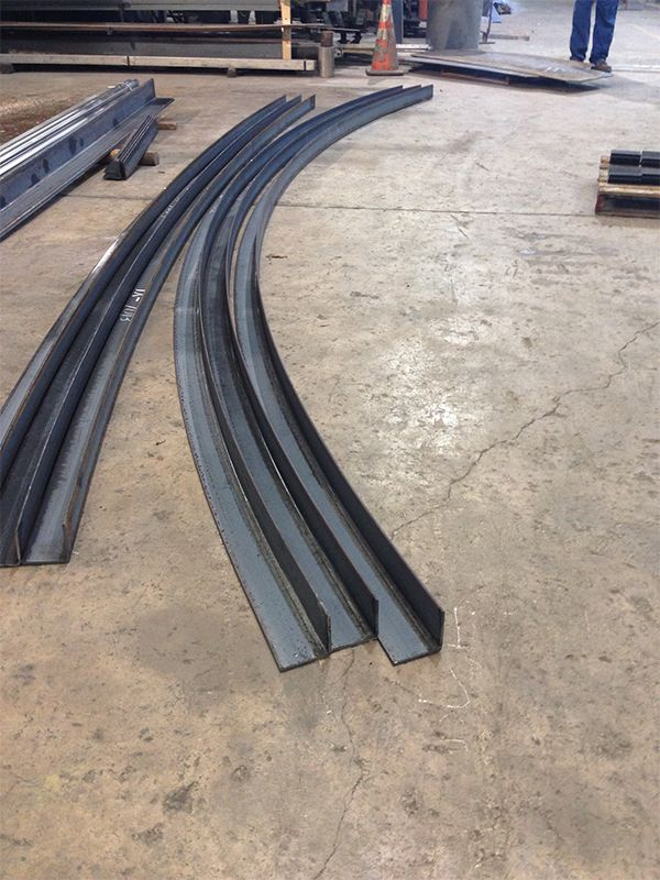 baldwin metals rolled angle curved angle steel angle