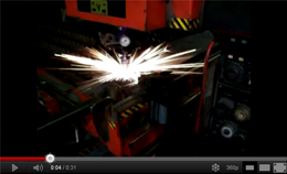 Baldwin Metals laser cutter video