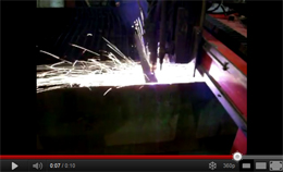 Baldwin Metals plasma cutter video