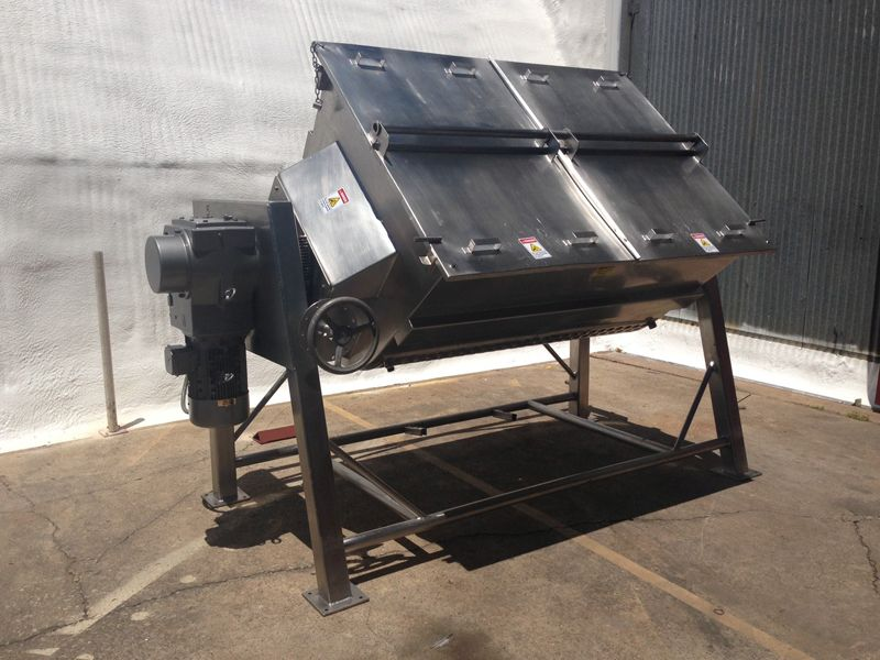 Baldwin Metals industrial cooker