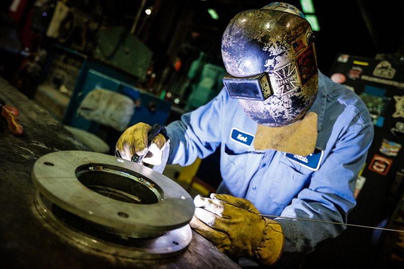 Our welders take on weldments both large and small with the same exceptional attention to detail