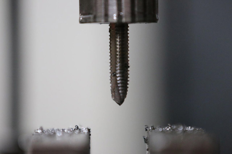 Among our milling services we regularly do threading and tapping for a number of applications