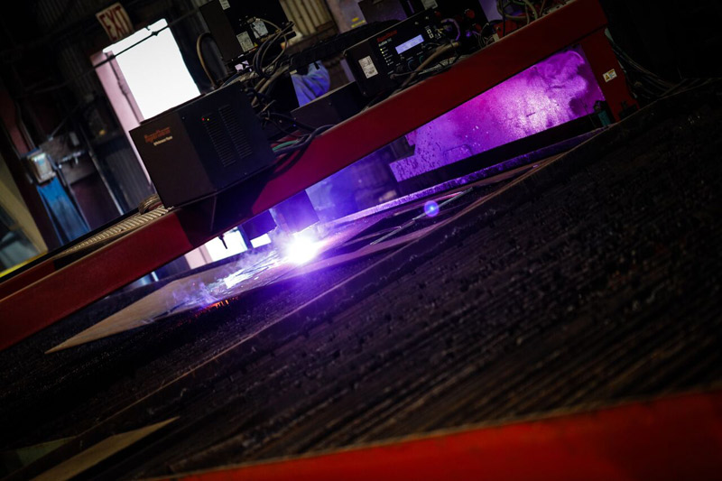 Baldwin Metals CNC Plasma Cutting