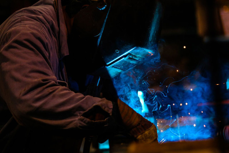 TIG, MIG and ARC welding are among the specialties at Baldwin Metals